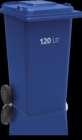 Speisereste 120 Liter Tonne