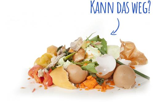 Erlaubte Speiseabfälle - Das darf in die Tonne!