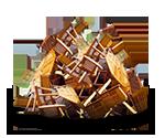 Beispiel Holz schadstoffbelastet